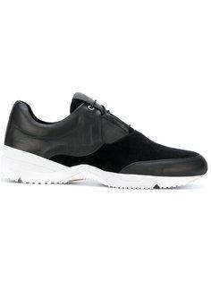 кроссовки с контрастной подошвой Wooyoungmi