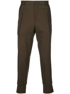 классические брюки с эластичными манжетами Wooyoungmi