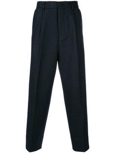 укороченные классические брюки свободного кроя Wooyoungmi