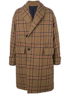 пальто со смещенной застежкой Wooyoungmi