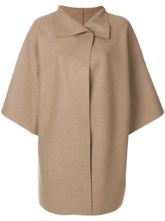 oversized cape coat  Harris Wharf London