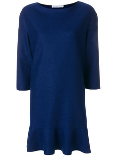платье с оборкой  Harris Wharf London