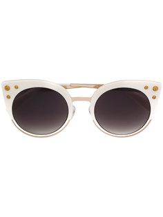солнцезащитные очки с заклепками Balmain