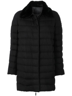 padded coat with mink fur collar Moncler Gamme Rouge