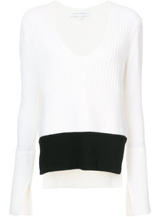 V-neck knitted top Narciso Rodriguez