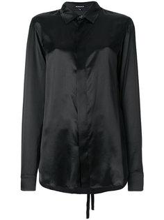 рубашка с поясом  Ann Demeulemeester