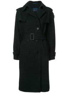 пальто-тренч с поясом Yohji Yamamoto