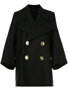 tailored knitted coat Eudon Choi