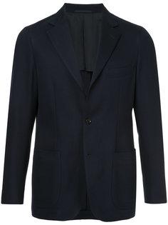 пиджак с простроченной отделкой United Arrows