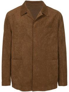 легкая замшевая куртка  United Arrows