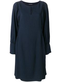 """платье с вырезом """"замочная скважина"""" Luisa Cerano"""