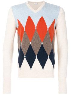 свитер с ромбовидным узором Ballantyne