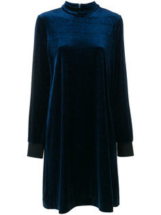 бархатное платье с длинными рукавами  Sonia By Sonia Rykiel