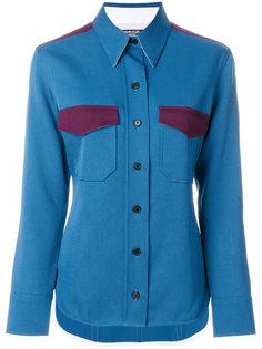 рубашка с контрастными панелями Calvin Klein 205W39nyc