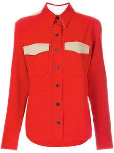 рубашка плетеной фактуры Calvin Klein 205W39nyc