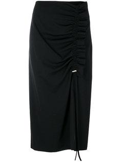 юбка с декоративной стяжкой Cédric Charlier