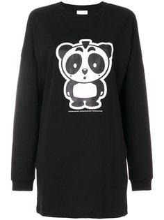 logo print sweatshirt Nicopanda