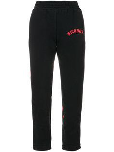 укороченные трикотажные брюки  Nicopanda