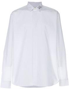 рубашка с вышивкой Yves Saint Laurent