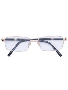 очки с квадратной оправой Montblanc