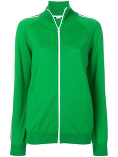 свитер на молнии с полосками  Stella McCartney