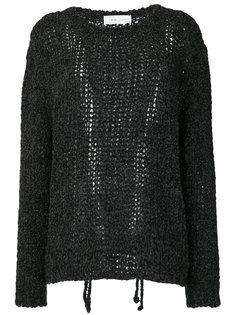 свитер ажурной вязки  Iro