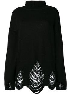 свитер-водолазка с отделкой  Iro