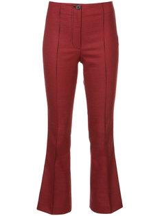houndstooth flared trousers Helmut Lang