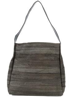striped tote bag B May