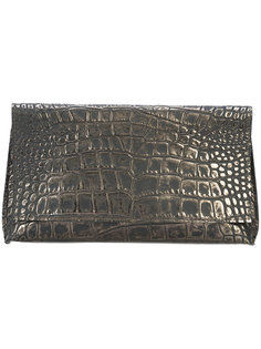 embossed clutch bag B May