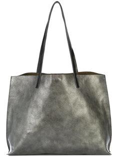 metallic tote bag B May