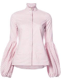 клетчатая рубашка Caroline Constas