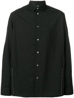 рубашка с контрастными стежками Oamc