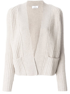 ribbed cardigan Allude