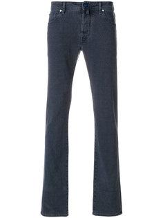 джинсы скинни с принтом Jacob Cohen