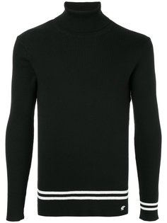 свитер с полосками на подоле Loveless