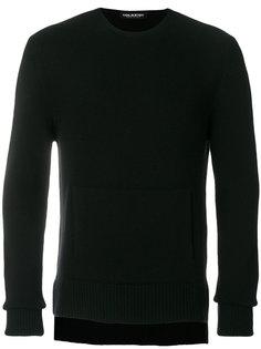 свитер с круглым вырезом с карманом спереди Neil Barrett