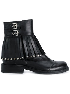 embellished tassel buckle boots  Htc Hollywood Trading Company