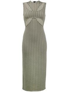 платье по фигуре с крестообразными вырезами спереди Beaufille