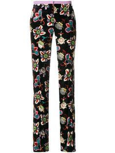 брюки Popflower Grande Valentino