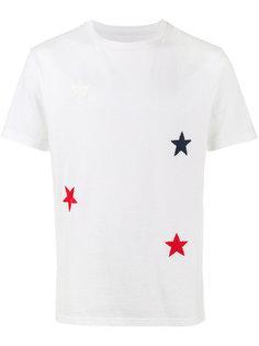футболка с вышитыми звездами Sophnet.