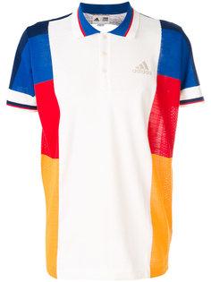 футболка-поло дизайна колор-блок Adidas