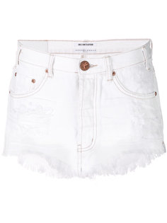 джинсовые мини-шорты One Teaspoon