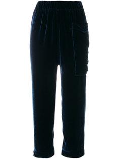 укороченные брюки со шнурком  Sofie Dhoore
