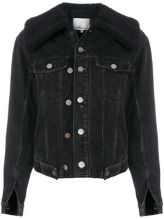 джинсовая куртка с цигейкой  3.1 Phillip Lim