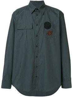 рубашка с заплатками Yang Li