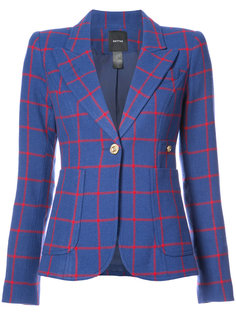 one button V-neck blazer Smythe