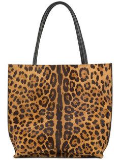 leopard print tote bag B May