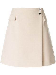 А-образная юбка с запахом  Armani Jeans