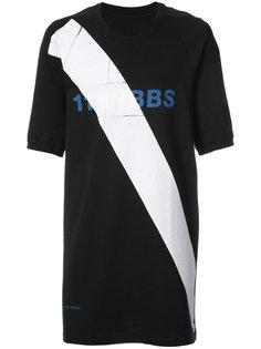 футболка с диагональной полоской 11 By Boris Bidjan Saberi